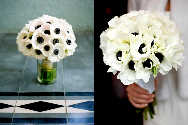 Black and white wedding bouquets ideas images 2017 black and white wedding bouquets mightylinksfo Images