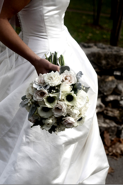 Black and White Wedding Bouquets | Ideas, Images 2017
