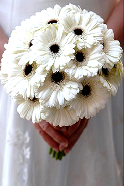 Black And White Wedding Bouquets Ideas Images 2017