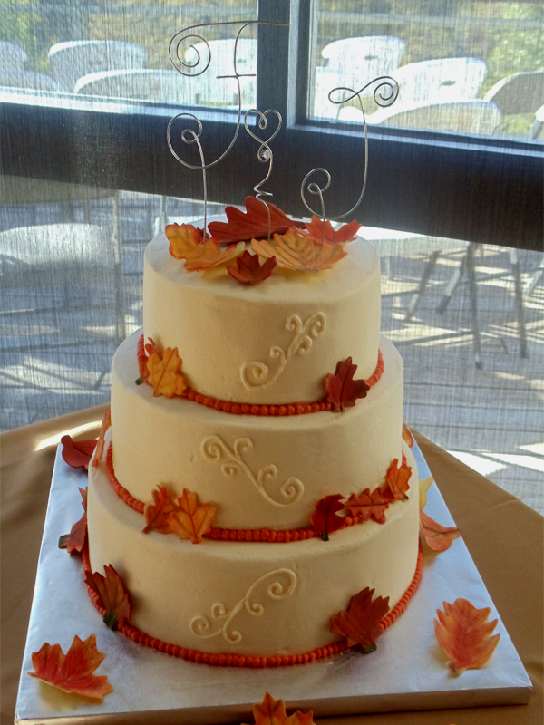 small fall wedding cakes fall wedding cakes pictures of autumn wedding cakes 2017 20210