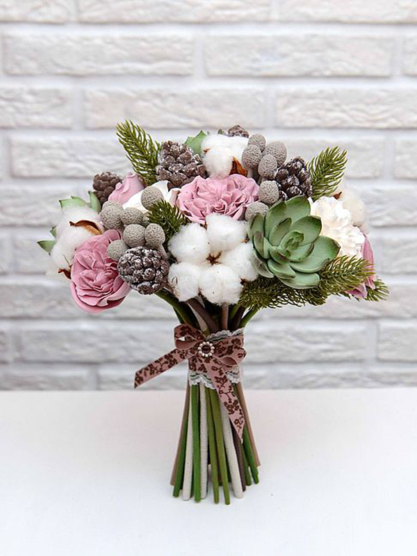 Winter Wedding Flowers, Bridal Bouquet 2017 | Pictures of bouquets ...