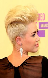 Women's Haircuts with Shaved Sides