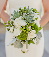 Green Wedding Bouquets