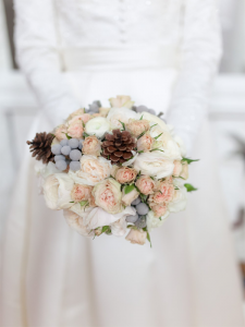 Winter wedding bouquets