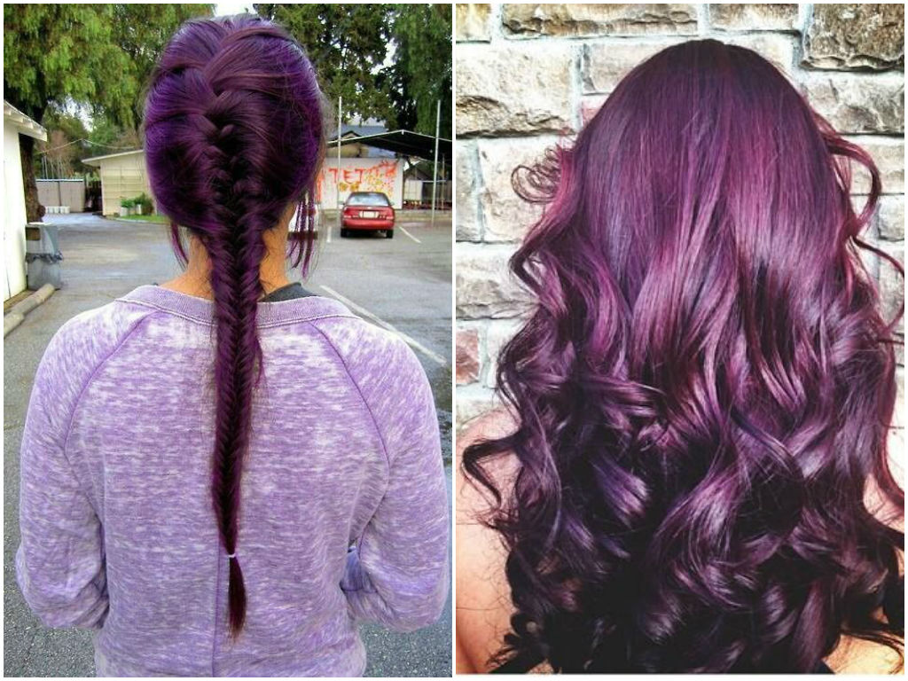 60 Burgundy Hair Color Ideas Maroon Deep Purple Plum Burgundy