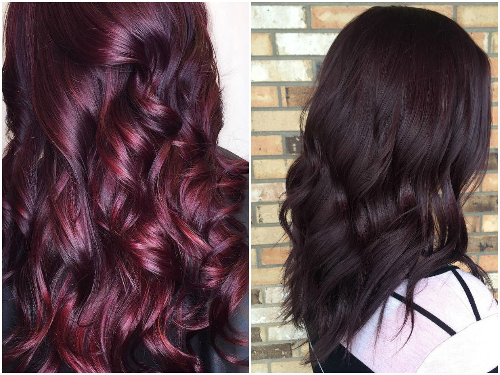 Dark Red Curly Hair Color