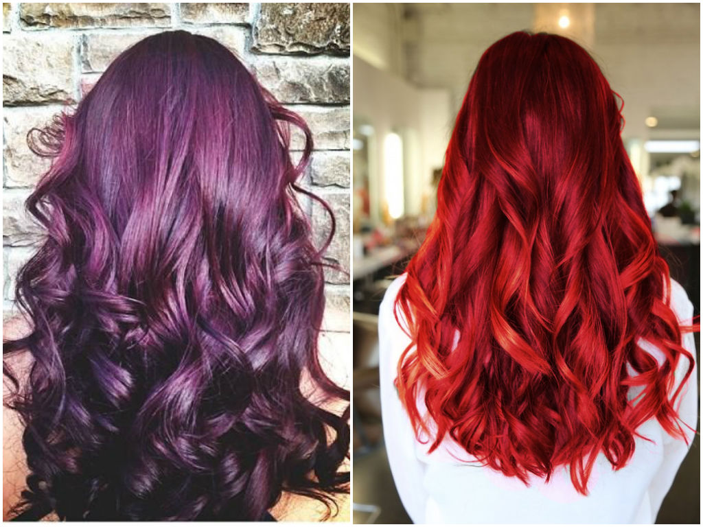 Rich Red Burgundy Hair Color