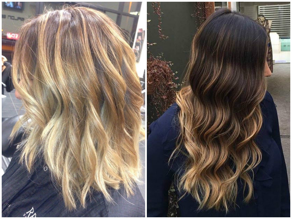 45 Trendy Blonde Balayage And Ombre Highlights On Brown