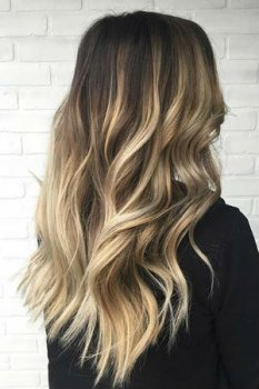 45 Trendy Blonde Balayage and Ombre on Brown Hair