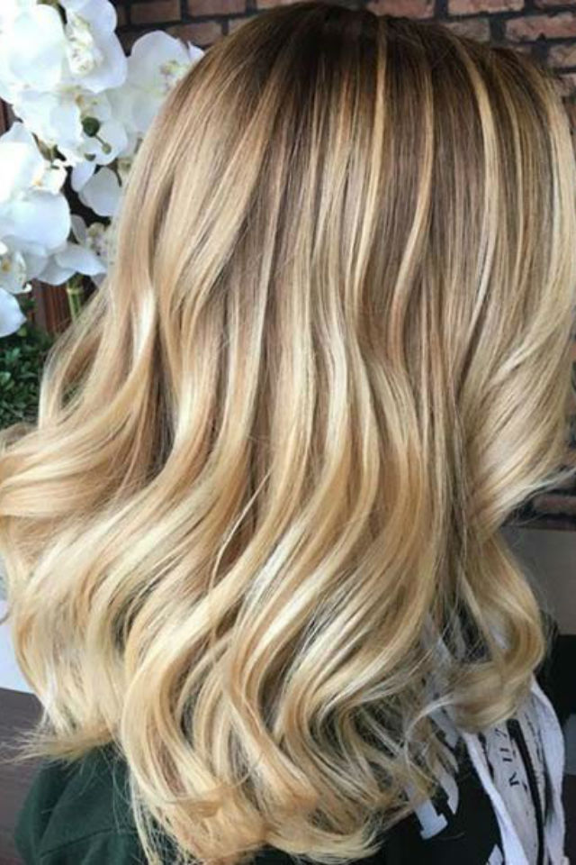 Highlighted Blonde Hair Pictures 7000 Hair Highlights