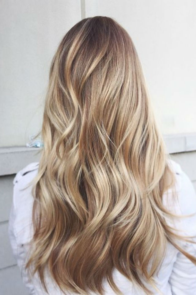 36 blonde balayage hair color ideas with caramel honey. Black Bedroom Furniture Sets. Home Design Ideas