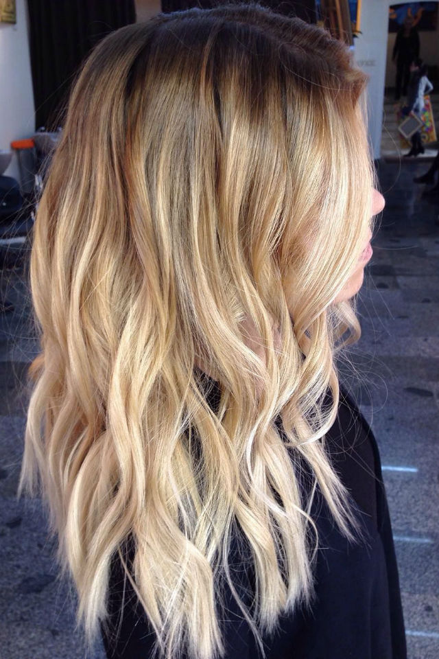 36 Blonde Balayage Hair Color Ideas With Caramel Honey