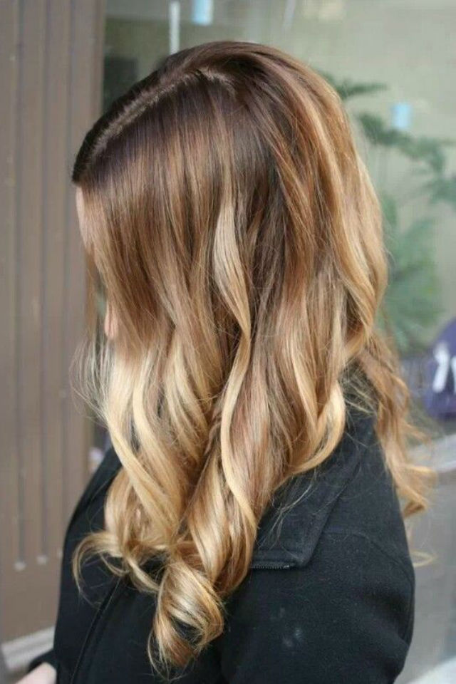 HD wallpapers hairstyles with red and caramel highlights