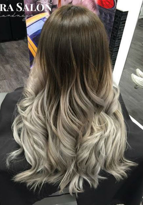 Ash blonde balayage and silver ombre hair color ideas 2017 ash blonde hair with highlights ash blonde hair with highlights urmus Image collections