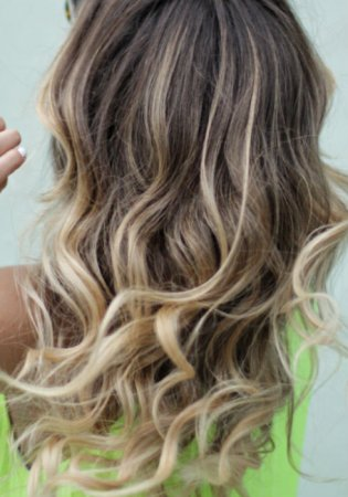Ash Blonde Hair with Highlights