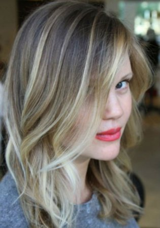 Ash Blonde Balayage And Silver Ombre Hair Color Ideas 2017