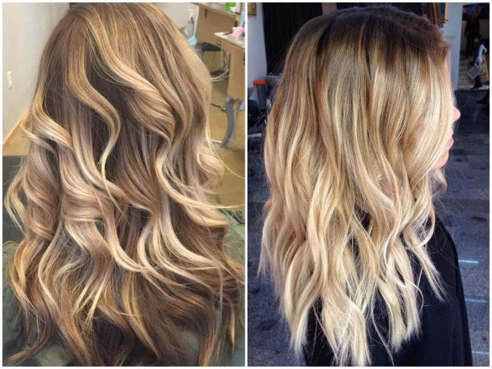 36 blonde balayage hair color ideas with caramel honey copper highlights. Black Bedroom Furniture Sets. Home Design Ideas