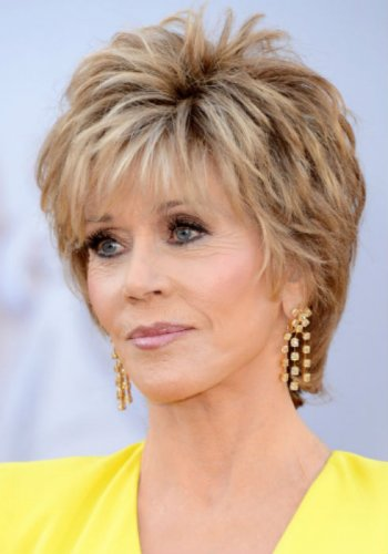 jane fonda short haircuts fonda haircuts shaggy bobs womanly waves and the 4524 | 1480512504 8
