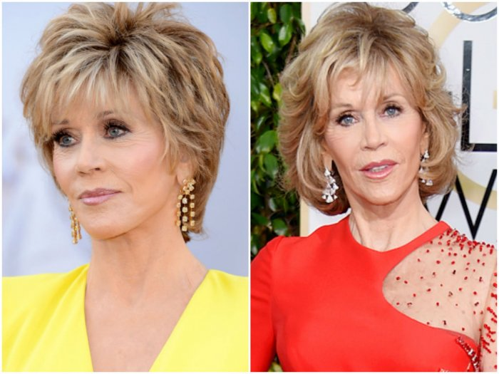 Jane Fonda Hair Styles: Jane Fonda Short Haircuts