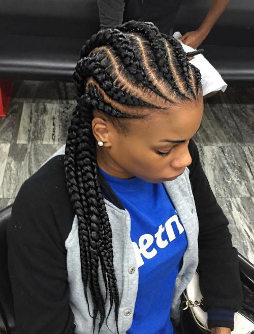 Black Braided Hairstyles 2019 – Big, Small, African, 2 and