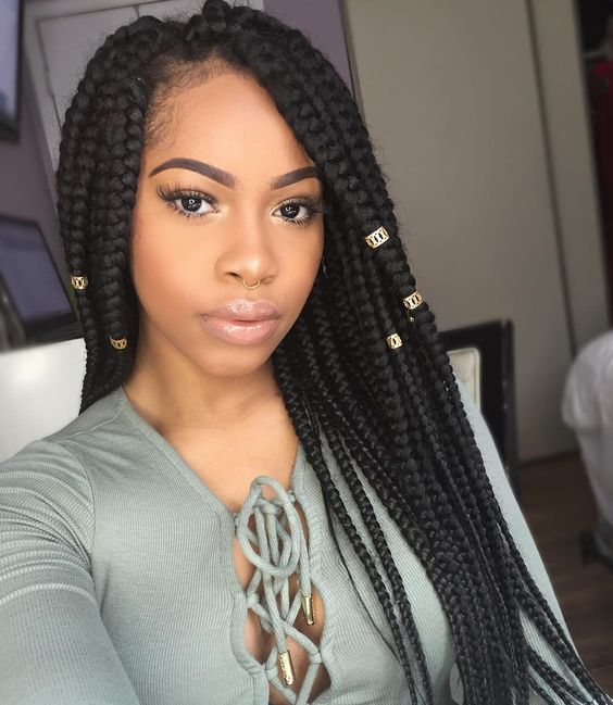Excellent Black Braided Hairstyles 2019 Big Small African 2 And 4 Cornrows Natural Hairstyles Runnerswayorg