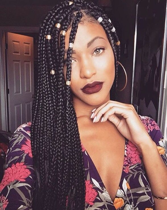 Black Braided Hairstyles 2019 Big Small African 2 And