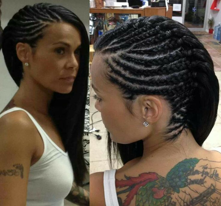 Swell Black Braided Hairstyles 2019 Big Small African 2 And 4 Cornrows Schematic Wiring Diagrams Amerangerunnerswayorg