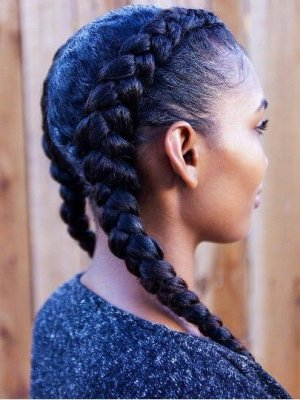 Black Braided Hairstyles 2018 Big Small African 2 And 4 Cornrows