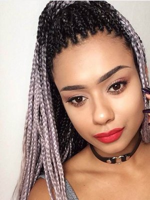 Black Braided Hairstyles 2019 – Big, Small, African, 2 and 4 Cornrows