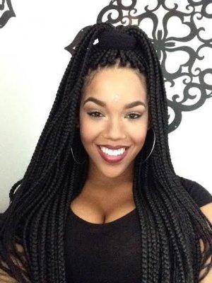 Trendy Black Braided Hairstyles