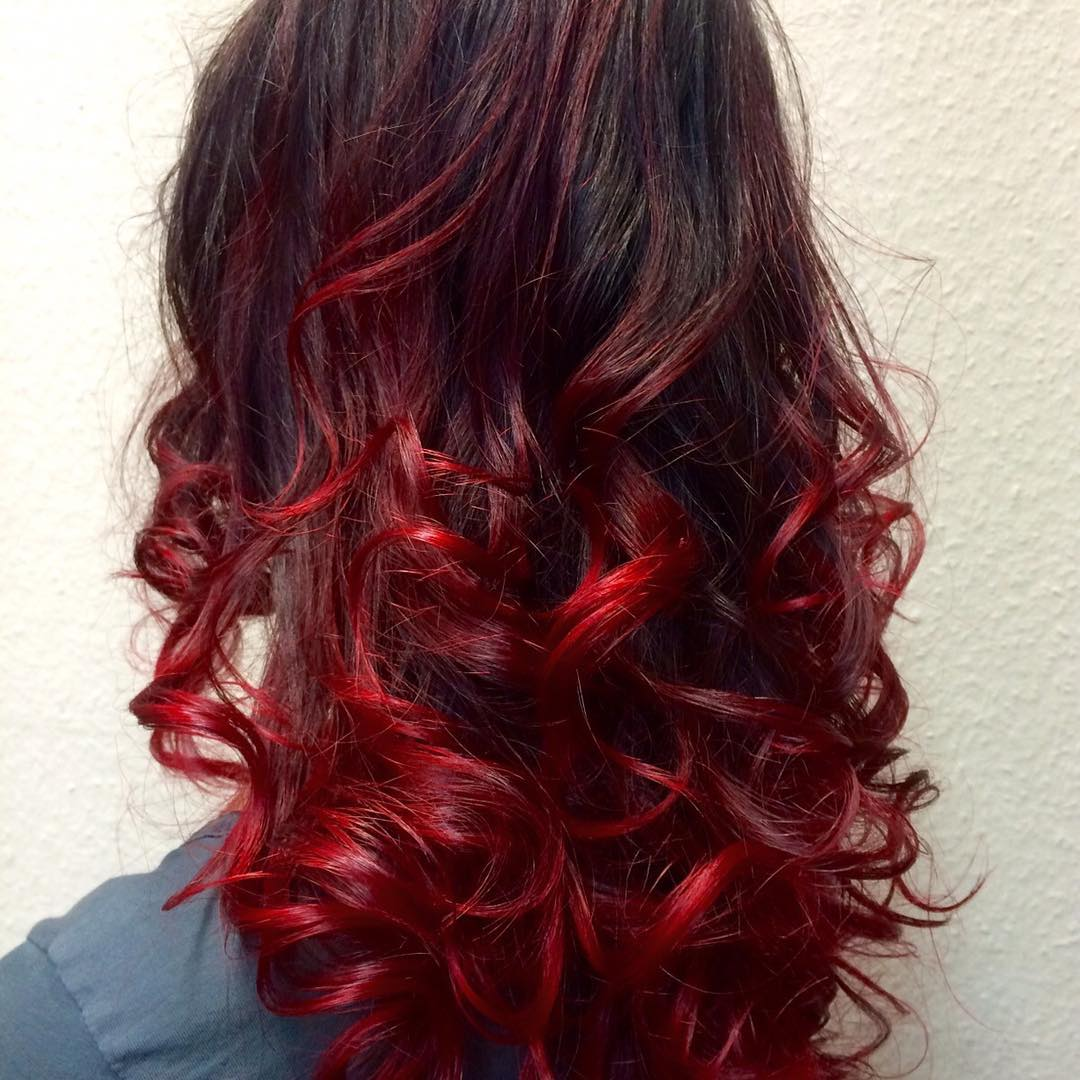Red Ombre Hair Color 36 New Stunning