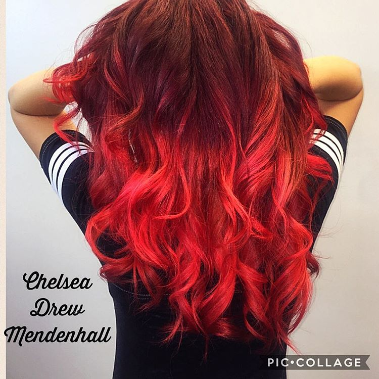 Red Ombre Hair Color   36 New Stunning Ideas
