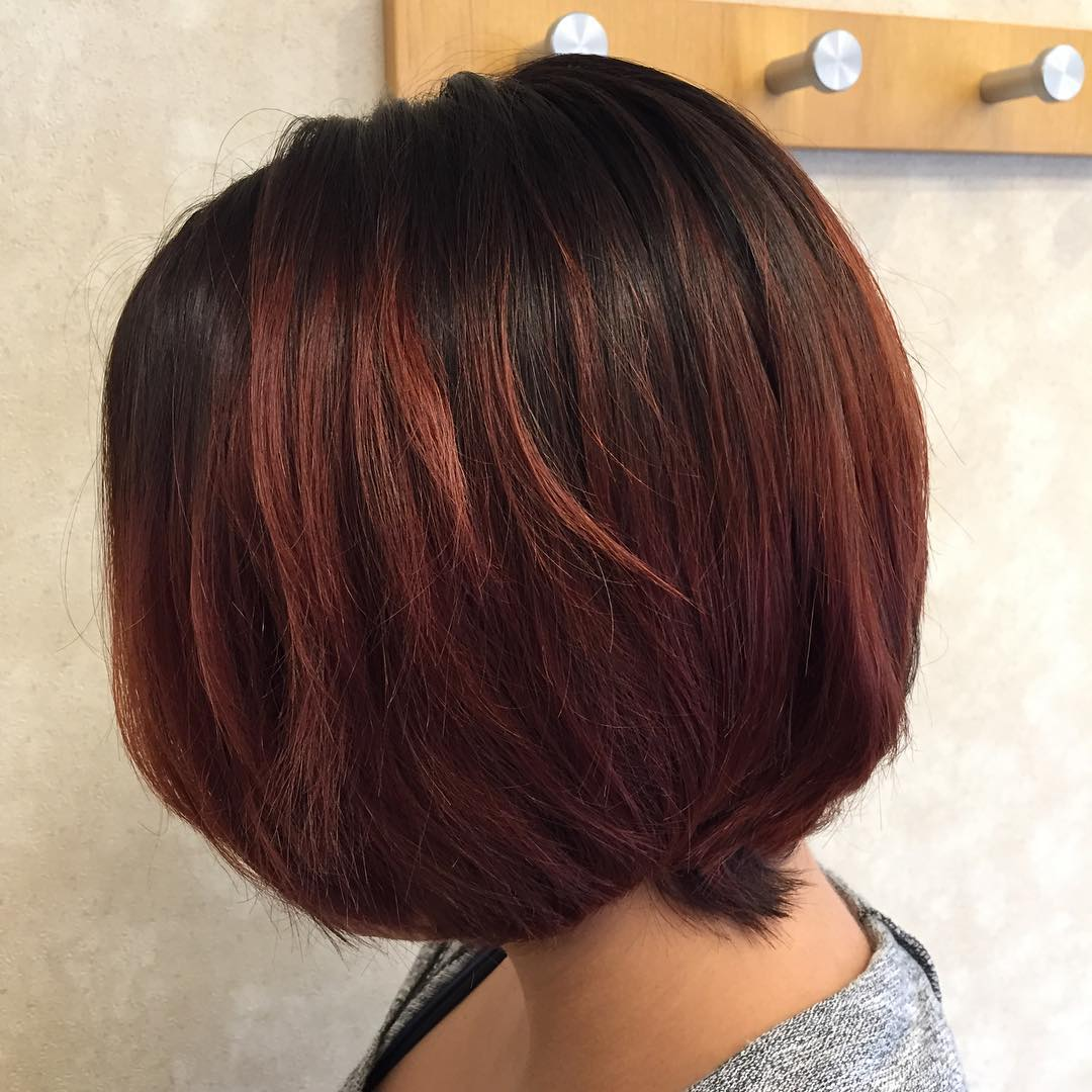 Ombre On Short And Long Bob Hair 2018