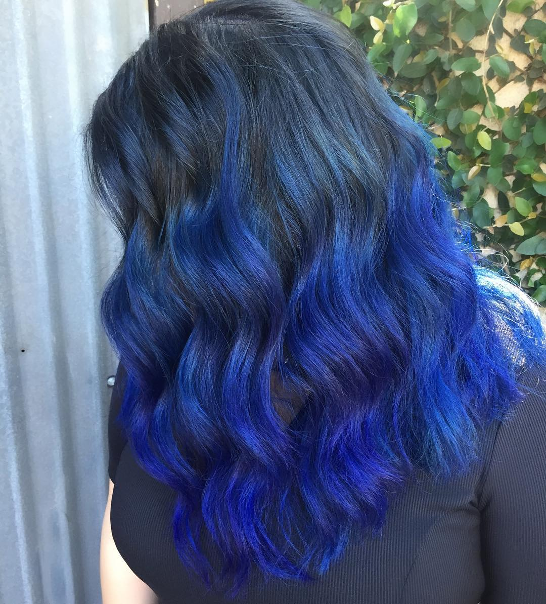 27 Reliable Sources To Learn About Black And Blue Ombre Hair Black
