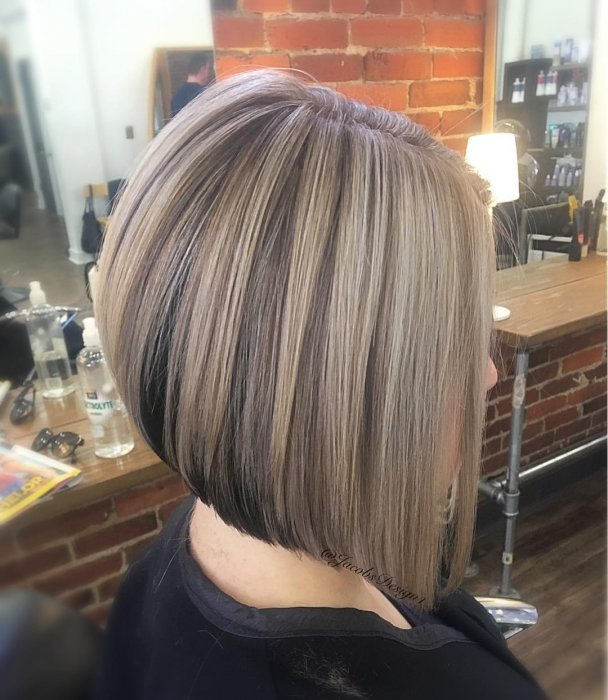 Inverted Bob Haircuts and Hairstyles 2018 | Long, Short