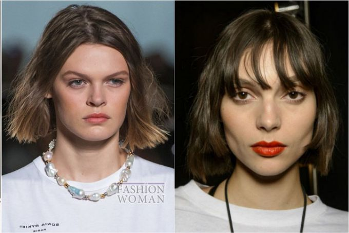 Fashionable hairstyles for spring-summer 2018