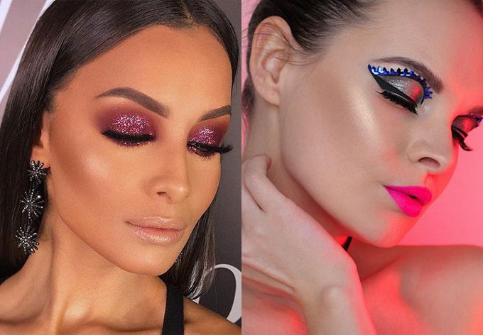 Makeup for the new year 2019