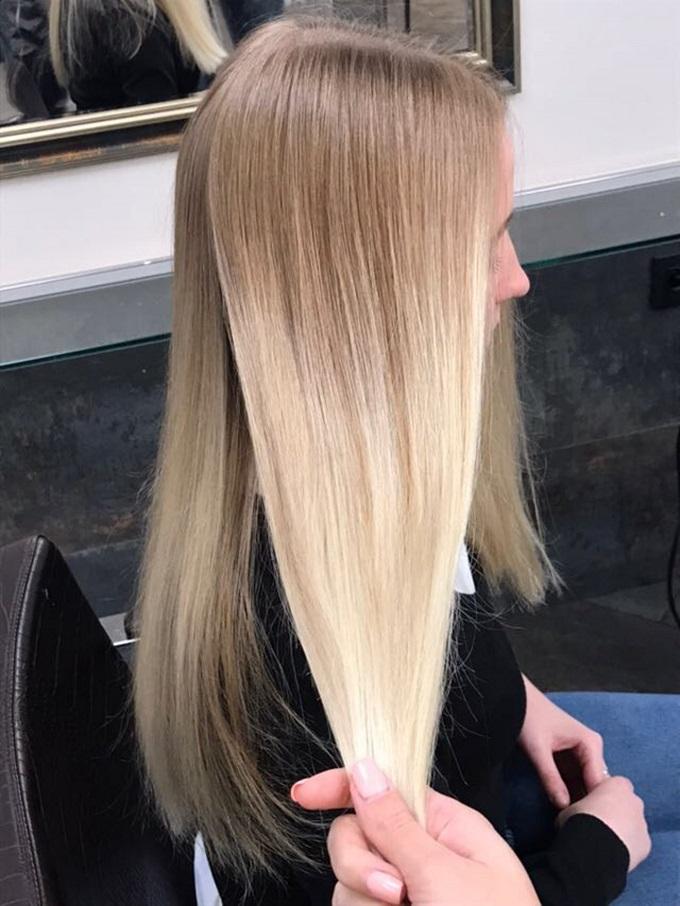 Air Touch hair technique