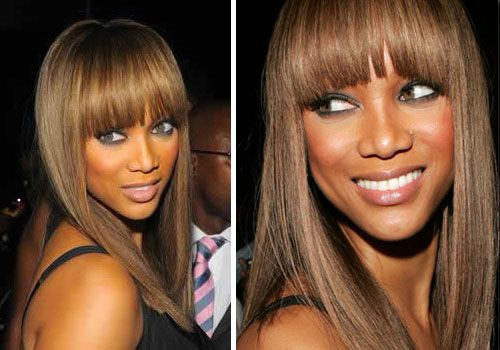 How to style your bangs!