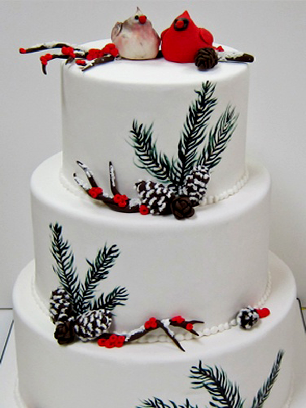Winter Wedding Cake Ideas 2017 Toppers Cakes With