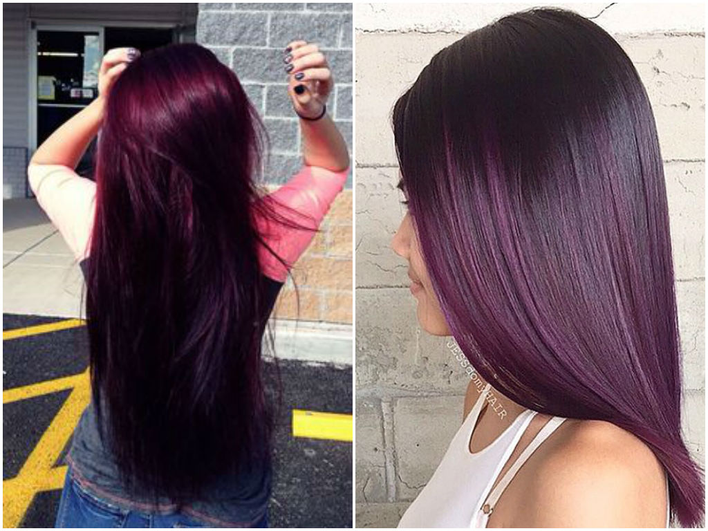 12 Burgundy amp Maroon Ombre Hairstyles That Scream Wao