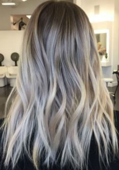 Dark Ash Blonde Balayage