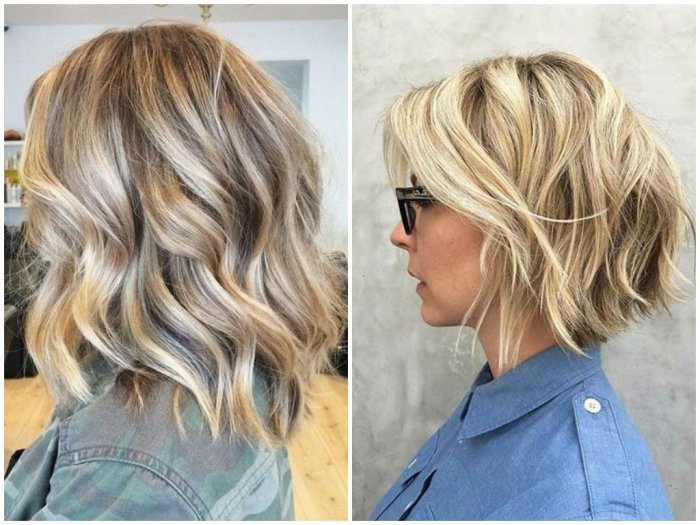 Blonde Balayage Ombre Hair Color Ideas With Highlights